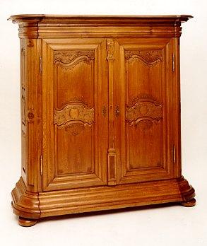 antiquit ten und kunsthandlung baumann ein paar eichenschr nke. Black Bedroom Furniture Sets. Home Design Ideas